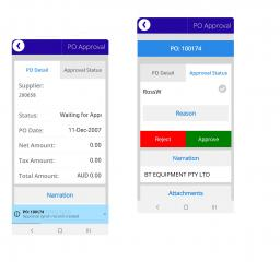 TOKN Purchase Order App