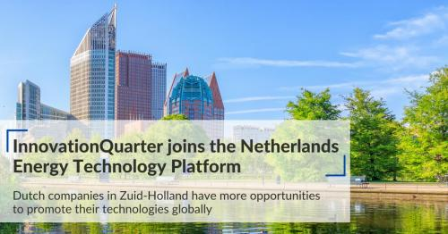 InnovationQuarter joins the Netherlands Energy Technology Platform